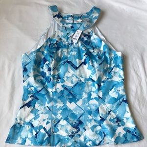 NWT White House Black Market Blue top